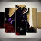 The Joker Batman Movie DC Comics 5pc Wall Decor Framed Oil Painting #5 Superhero Art