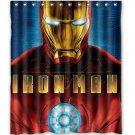 Iron Man Avengers Design Shower Curtain 60 x 72