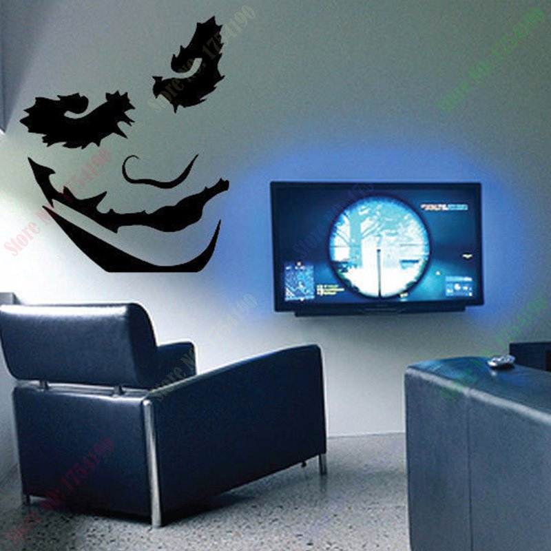 The Joker Large Wall Decal Batman Villan