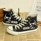 Star Wars Casual Shoes Black with Stormtrooper Pair New