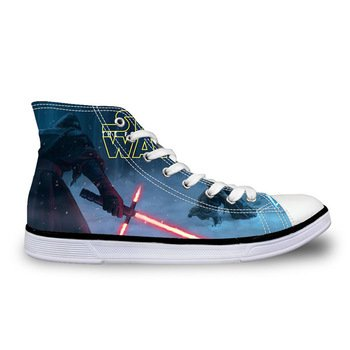 Star Wars Kylo Ren Canvas Casual Shoes Design 7 - NEW
