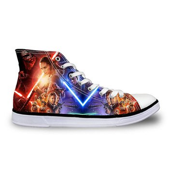 Star Wars Force Awakens Canvas Casual Shoes Design 8 - NEW