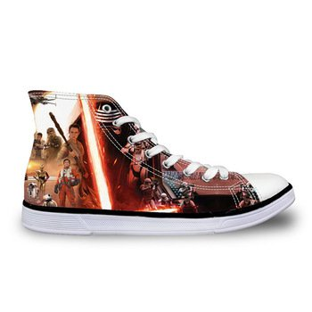 Star Wars Force Awakens Canvas Casual Shoes Design 9 - NEW