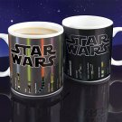 Star Wars Lightsaber Coffee Ceramic Heat Change Mug  Hot Drink Gift