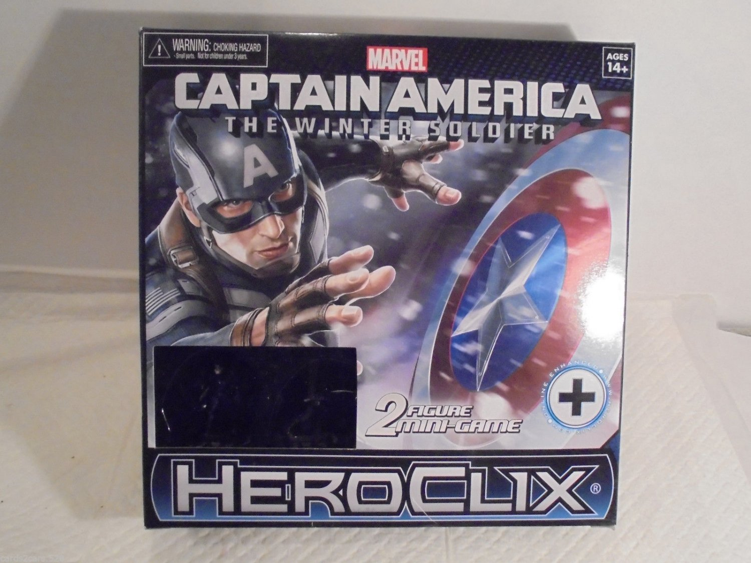 Marvel Captain America 2 Figure Mini Game SUPER SALE