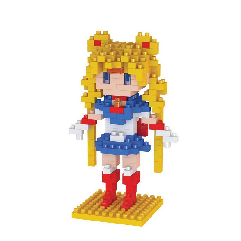 Sailor Moon Building Block Figure Building Block 220pcs Anime