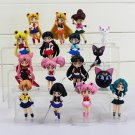 Sailor Moon 16pcs set Figure Anime Figurines