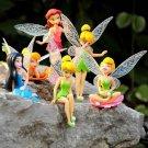 Tinkerbell 6pcs set Figure Anime Figurines Disney toys
