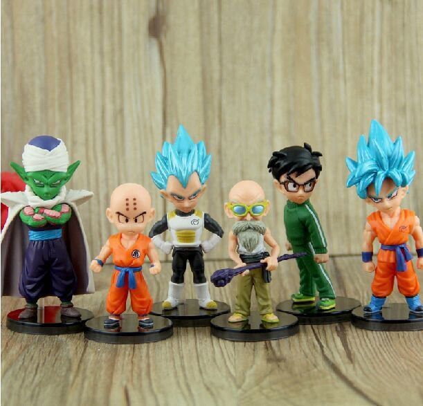 Dragon Ball Z 6pcs set Figure Anime Figurines