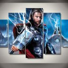 Thor Movie 5pc Oil Painting Wall Decor  HD Comics Superhero