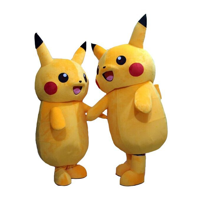 Pokemon Mascot Costume Pokemon Go Character Adult