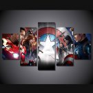Avengers Marvel DC Movie 5pc Framed Canvas Oil Painting Wall Decor  HD Superhero