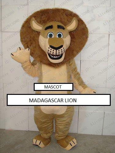 Madagascar lion character mascot costume - FREE SHIPPING