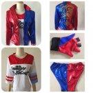 Suicide Squad Harley Quinn Custom Cosplay Character Costume Adult Female
