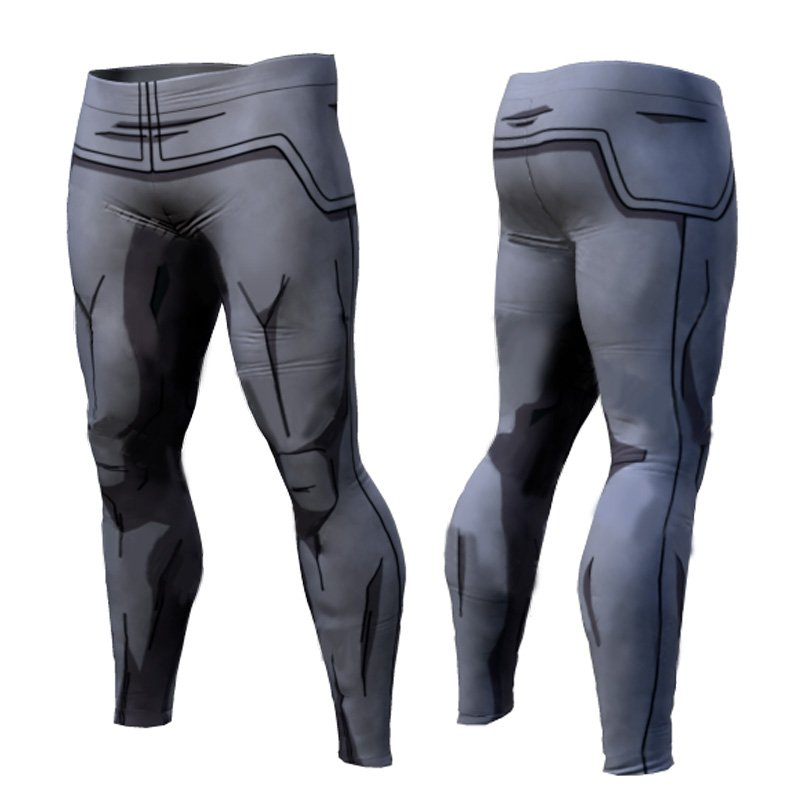 Dragon Ball Z Men Compression Work Out Goku Leggings Style