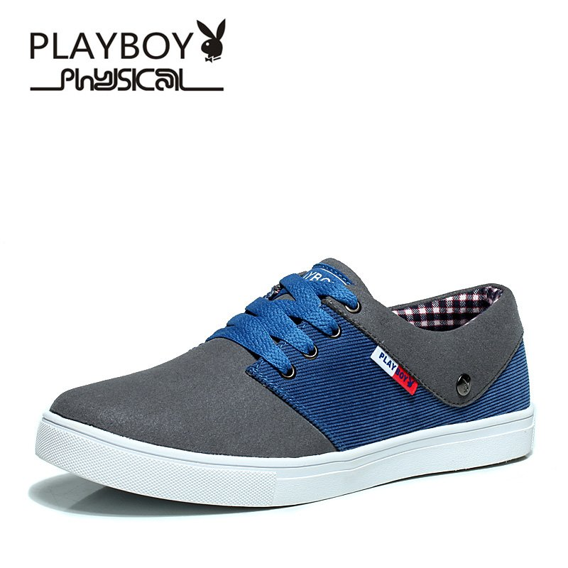 PLAYBOY 2016 Fashion Style Flat Men Shoes Breathable Casual Shoes -SALE