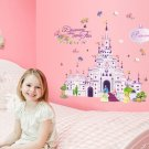 "Princess Dream Castle Wall Decal 20""x28"" Design Vinyl Disney"