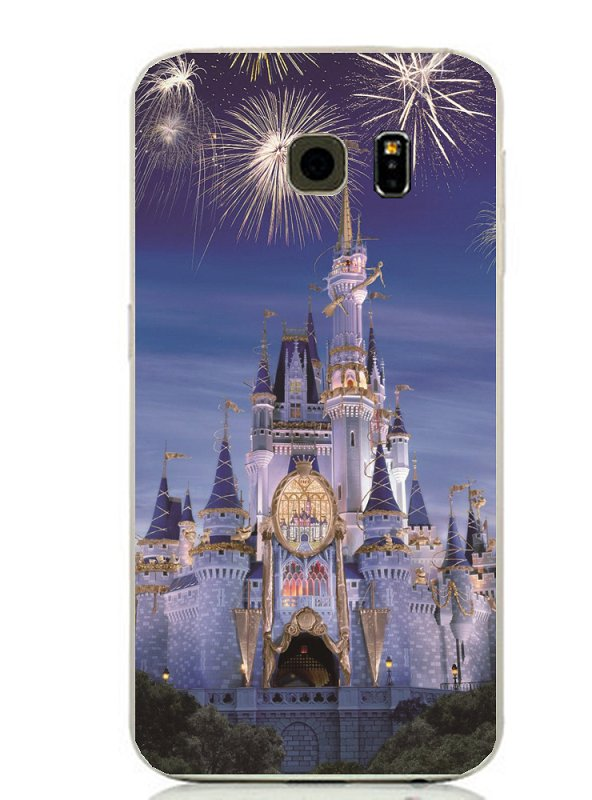 Disney Magic Castle Phone Case Cover for Samsung Phones