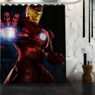 Ironman Shower Curtain Anime Cartoon Marvel Hollywood Designs
