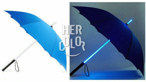 Star Wars Light Saber Umbrella- Blue