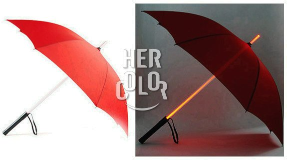 Star Wars Light Saber Umbrella- Red