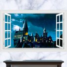 "Harry Potter 3D Wall Decal 24""x35"" Design Vinyl Scene Decor"