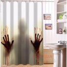 The Walking Dead Shower Curtain Horror Series Hollywood Design