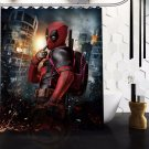 Deadpool Shower Curtain Series Hollywood Design