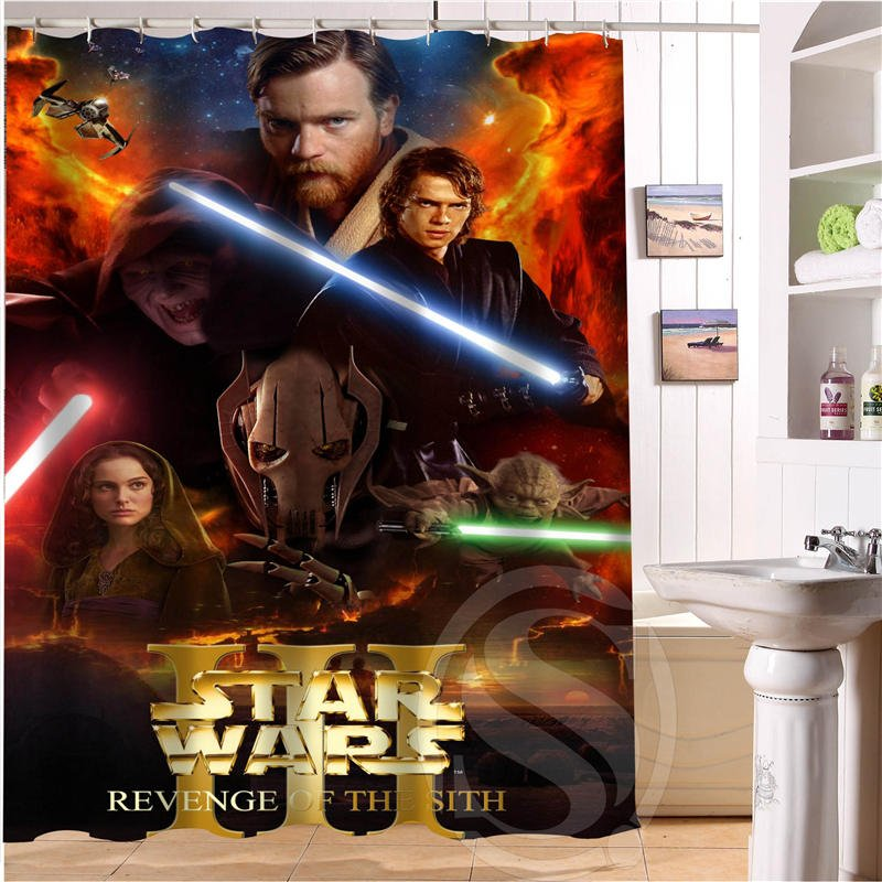 Star Wars Shower Curtain Series Hollywood Design Revenge of the Sith