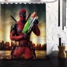 Deadpool Shower Curtain Series Hollywood Design 2