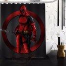 Deadpool Shower Curtain Series Hollywood Design 3