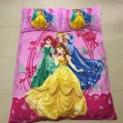 Disney Princess Girls Design Bedding Cover Set NEW - Twin Size 3pcs Sale