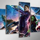 Guardians of the Galaxy Movie HD 5pc Wall Decor Framed Oil Painting Disney
