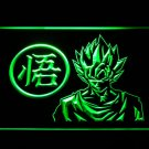 Dragon Ball Z GT Super Saiya Son Goku LED Neon Sign 3D