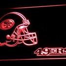 San Francisco 49ers Helmet LED Neon Sign 3D