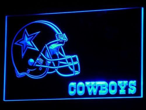 Dallas Cowboys Football Helmet LED Neon Sign 3D Sports