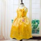 Belle Princess Character Dress Costume Toddler Girls 2T-8T