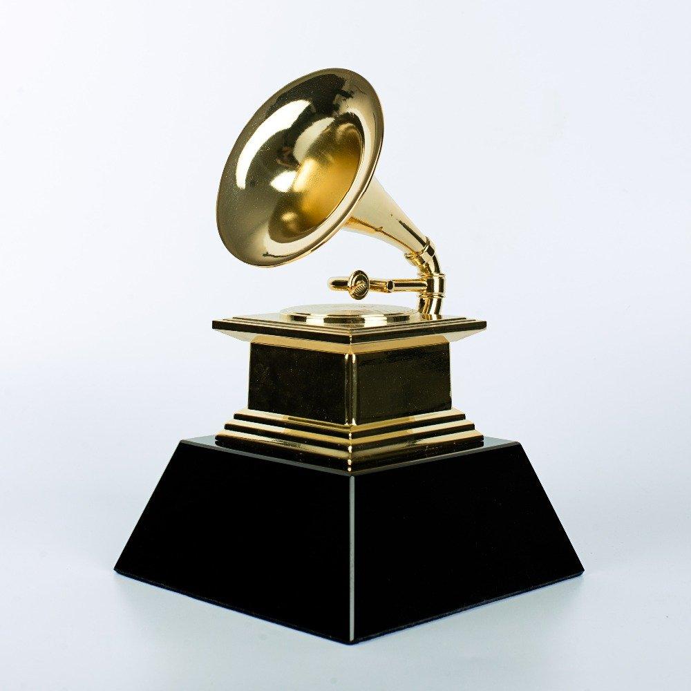 Hollywood Music Award Replica Trumpet Full size Grammy
