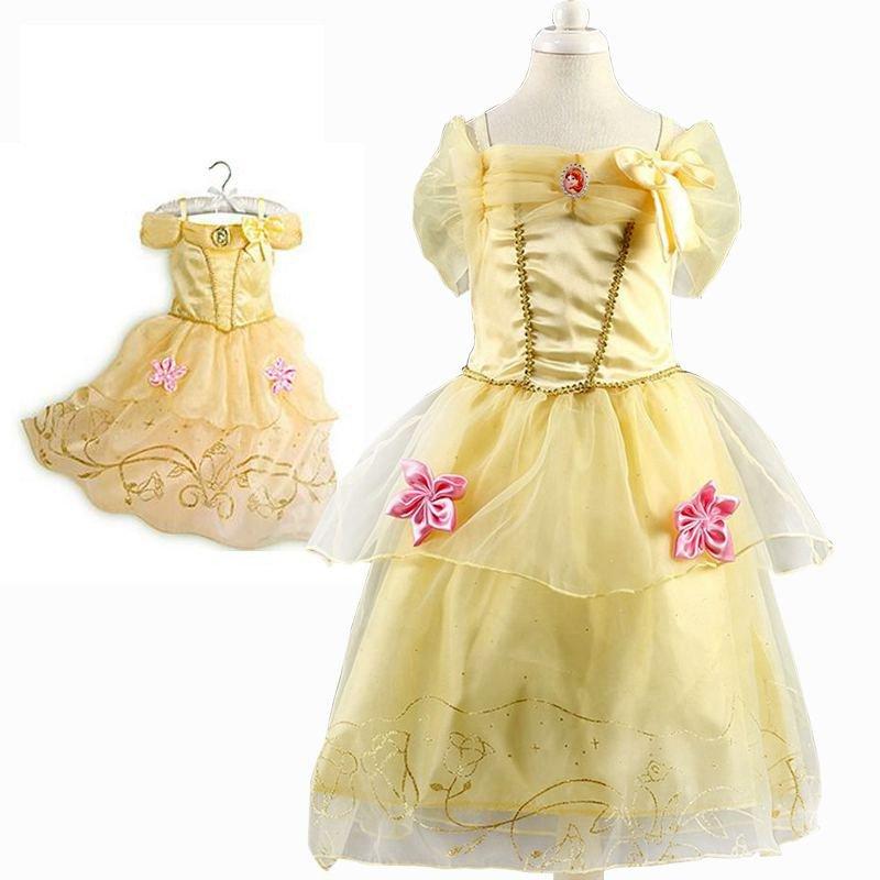 Belle Princess Princess Character Dress Costume CHILD /KID  (2T-8)