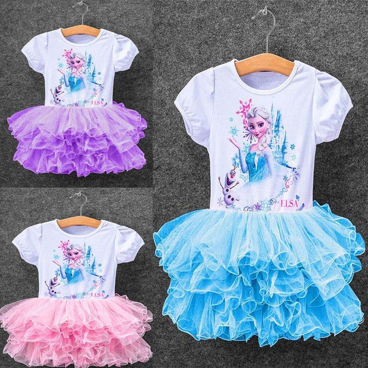 Baby Girl Elsa Frozen Elsa Dress for Kids