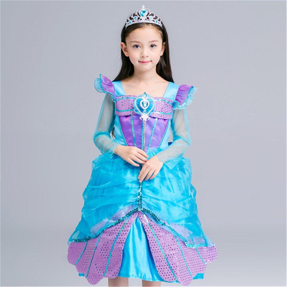 Sofia Princess Dress Kids Cosplay Costumes Girls New Arrival