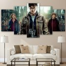 Harry Potter Movie HD 5pc Wall Decor Framed Oil Painting Bedroom art HD