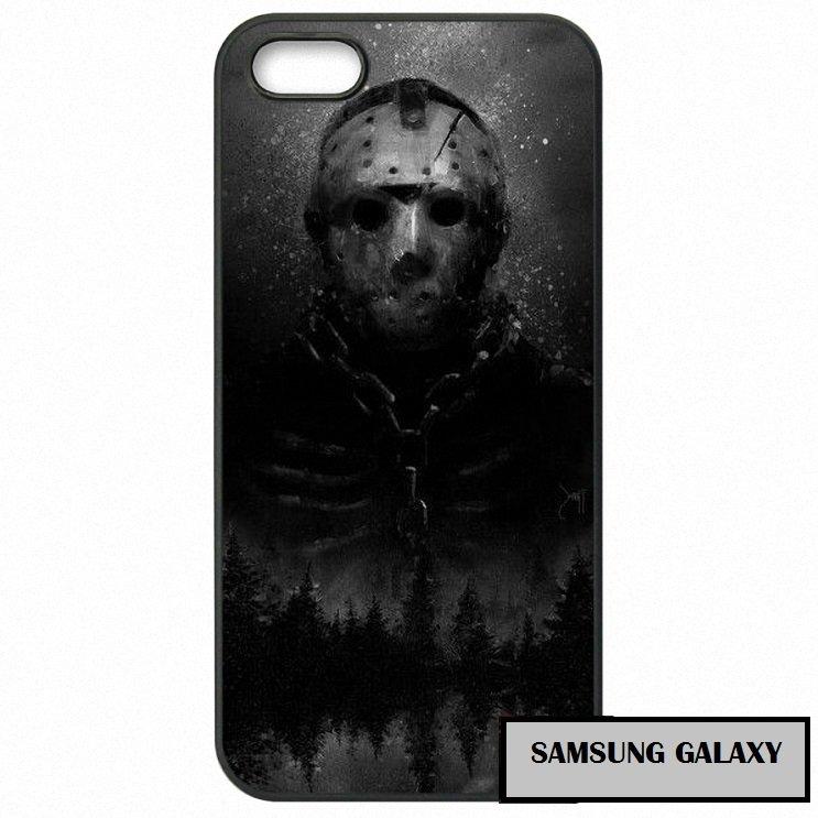 Jason Vorhees Cystal Lake Horror Phone Case Samsung Galaxy Note 2 3 4 5 7 S S2 S3 S4 S5 S6 S7 edge