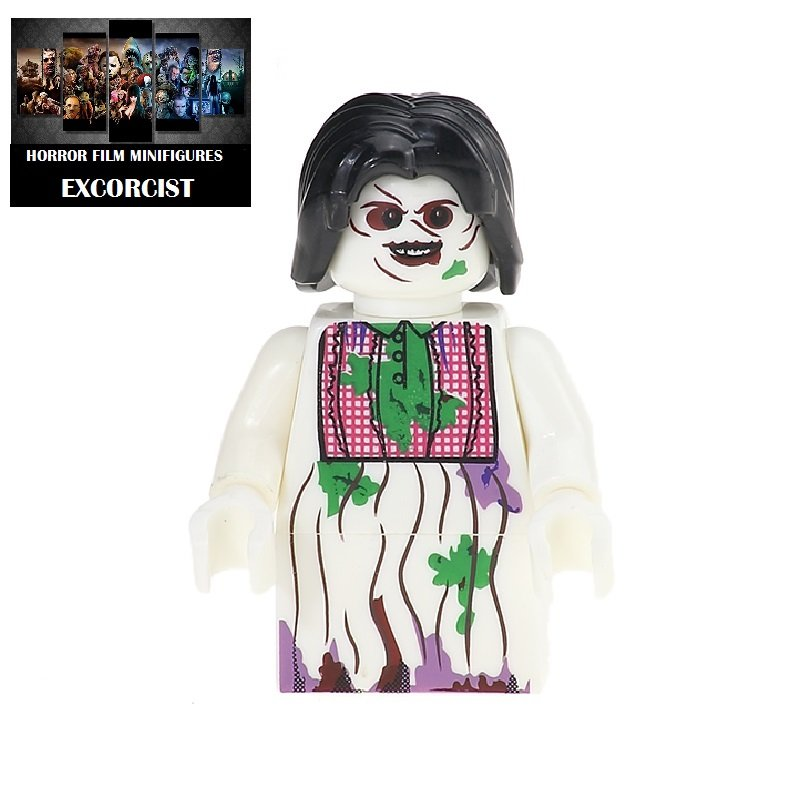 Excorcist Horror Film Movie Character Lego Minifigure Mini Figure Free shipping offer