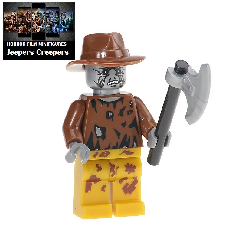 Jeepers Creepers Horror Film Movie Character Lego Minifigure Mini Figure Free shipping offer