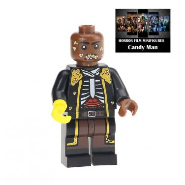 Candyman Horror Film Movie Character Lego Minifigure Mini Figure