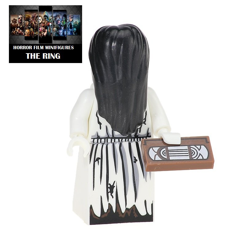 The Ring Horror Film Movie Character Lego Minifigure Mini Figure Free shipping offer