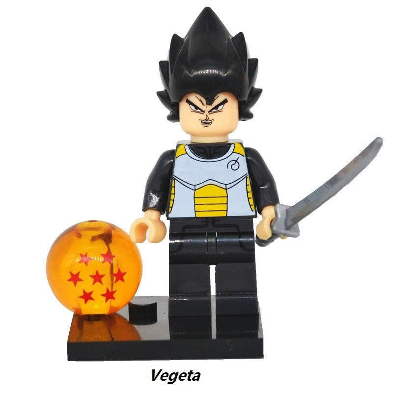 Dragon Ball Z Figure Son Goku Vegeta 1 Master Roshi  Minifigure Mini Figure Legos