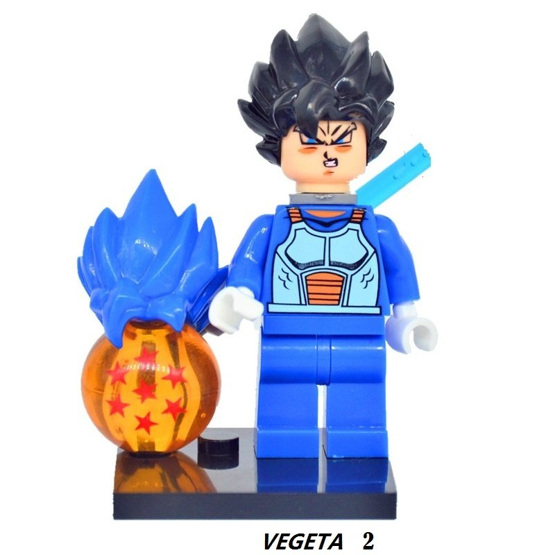 Dragon Ball Z Figure Son Goku Vegeta 2 Master Roshi  Minifigure Mini Figure Legos