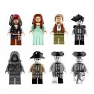 Pirates of the Caribbean Dead Men Tell No Tales Lesaro 8pc Mini Figures Lego Minifigures